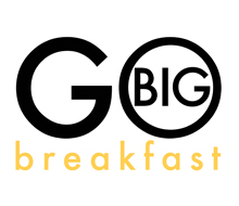 Go Big Breakfast Logo