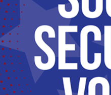 Social Security Voter Sticker