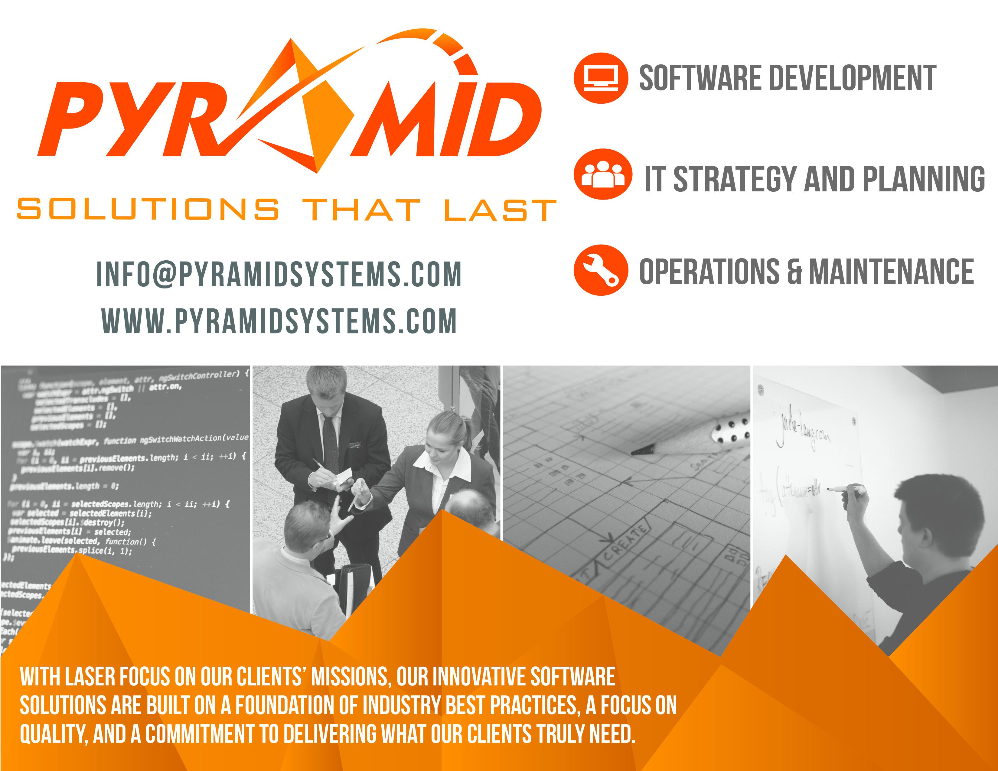 Pyramid Systems Advertisement Jacklin Nguyen Graphic Designer